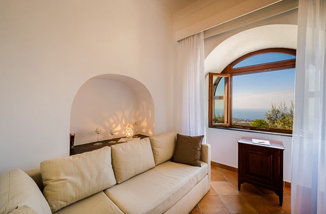 Suite with Sea View in Sorrento
