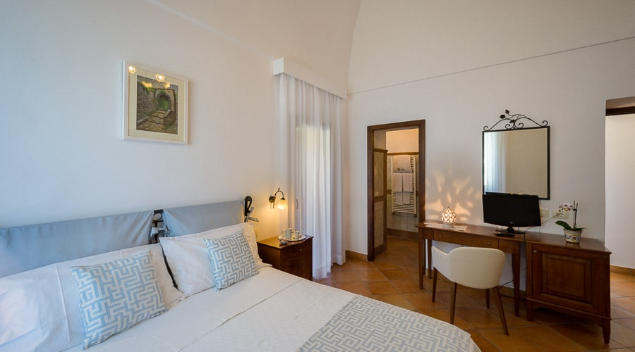Quadruple Room with Mountain View in Sorrento