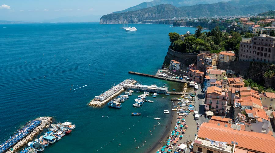 Antico Casale - view of sorrento