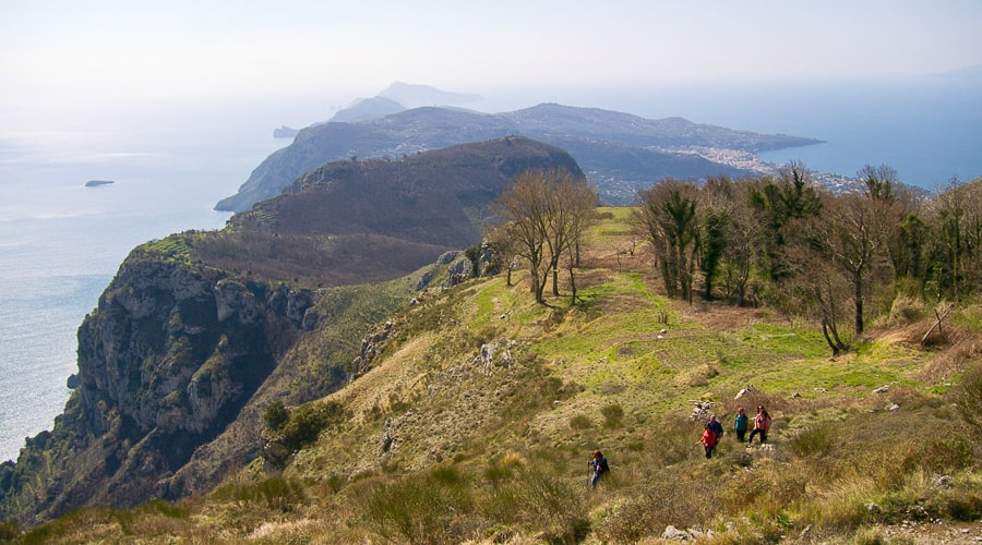 Antico Casale - hiking on the coast